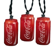 Coca-Cola Can Light Set, 10 Lights