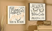 Giftcraft Note to Self Decorative Novelty Wall Sign