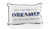 Dreamer, Decorative Throw Pillow