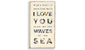 Wave in the Sea, Novelty Wall Sign
