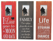 Life Love and Family Photo Frames