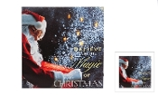 Riverland LED Lighted Christmas Canvas, Believe in the Magic