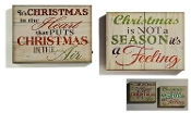 LED Lighted wall Christmas sentiments