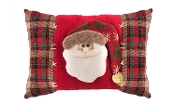 Santa Claus Themed Throw Pillow