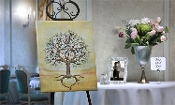 Giftcraft Canvas Signing Tree, Our Engagement