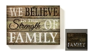 LED Lighted Strength of Family Plaque