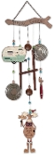 Trailer Park Collection Moose Wind Chime