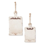 Rustic Wall Hanging Book Holder, Set of 2