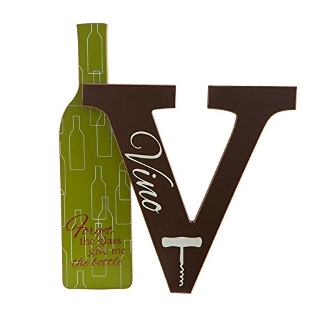 Wino Letter V Cutout Tabletop Decoration