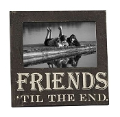 "Giftcraft ""Friends Till The End"" Picture Frame"