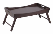Benito Bed Tray with Curved Top, Foldable Legs