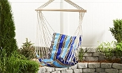 Giftcraft Outdoor Hanging Fabric Swing Chair