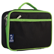 Rip-Stop Black/Green Lunch Box