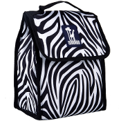 Zebra Munch 'n Lunch Bag