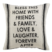 Ganz 'Bless This Home' Pillow