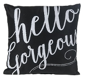 Hello Gorgeous Decorative Throw Pillow