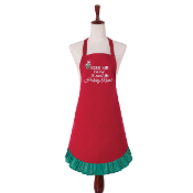 Kiss Me Now, To Avoid The Holiday Rush, Kitchen Apron