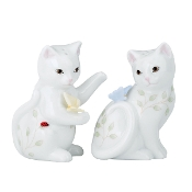 Butterfly Meadow® Kitten Salt & Pepper Shaker Set