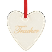 Expressions from the Heart Teacher Ornament