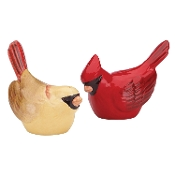 Winter Greetings® Carved Salt & Pepper Set