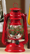 LED Lighted Metal Lantern