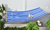 Blue and White Stripe Hammock