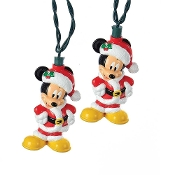 Kurt Adler Mickey Mouse String Light Set