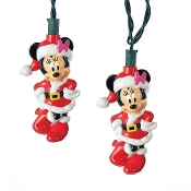 Kurt Adler Minnie Mouse String Light Set