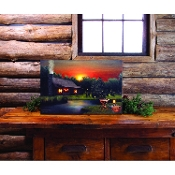 Lightedn Long Summer Evenings Canvas