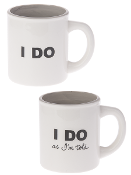 I Do, I Do As I'm Told, Coffee Mug Set