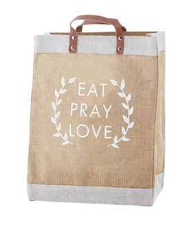 Eat, Pray, Love Farmer's Market Tote