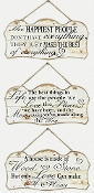 Young's - Wood Inspirational Wall Signs 3 Pack