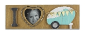"Young's Inc 16582 15.5""X2""X5.25"" Wood 4""X4"" Picture Frame"