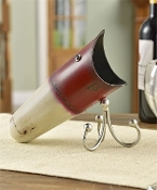 Iron Fish Lure Design Wine Bottle Holder
