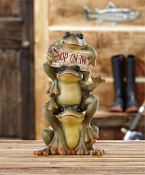 Hop On In, Indoor Frog Statuary