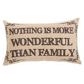 Nothing Is More Wonderful Than Family, Throw Pillow