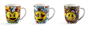Romero Britto Bone China Mug, Sold Separately