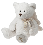 "Ganz ""God Bless"" Cuddles Plush Bear"
