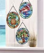 Tropical Themed Suncatchers, Three Designs, Sold Separately