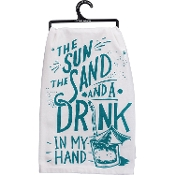 Dish Towel - Drink in Hand