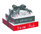 Mrs. Always Right Triple Note Stacks For The Bride (3 pc. set)