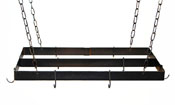 Rogar Rectangle Pot Racks w/ Centerbar