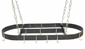 Rogar Oval Pot Racks w/ Centerbar