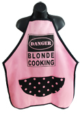 Wild Hare Designs Apron - Danger Blonde Cooking