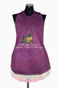 Sassy Style Cook's Apron - I Cook With Wine...