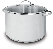 Cuisinox Deluxe® 11 qt Covered Stock Pot