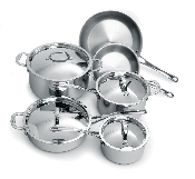 Cuisinox Elite® 10 piece Cookware Set