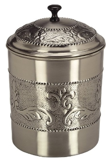 "Antique Embossed ""victoria"" Cookie Jar, 4 Qt."