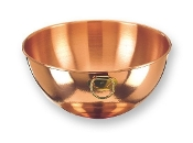 "10½"" Diameter Solid Copper Beating Bowl, 4½ Quarts"