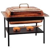 Décor Copper Chafing Dish, 8 Qt